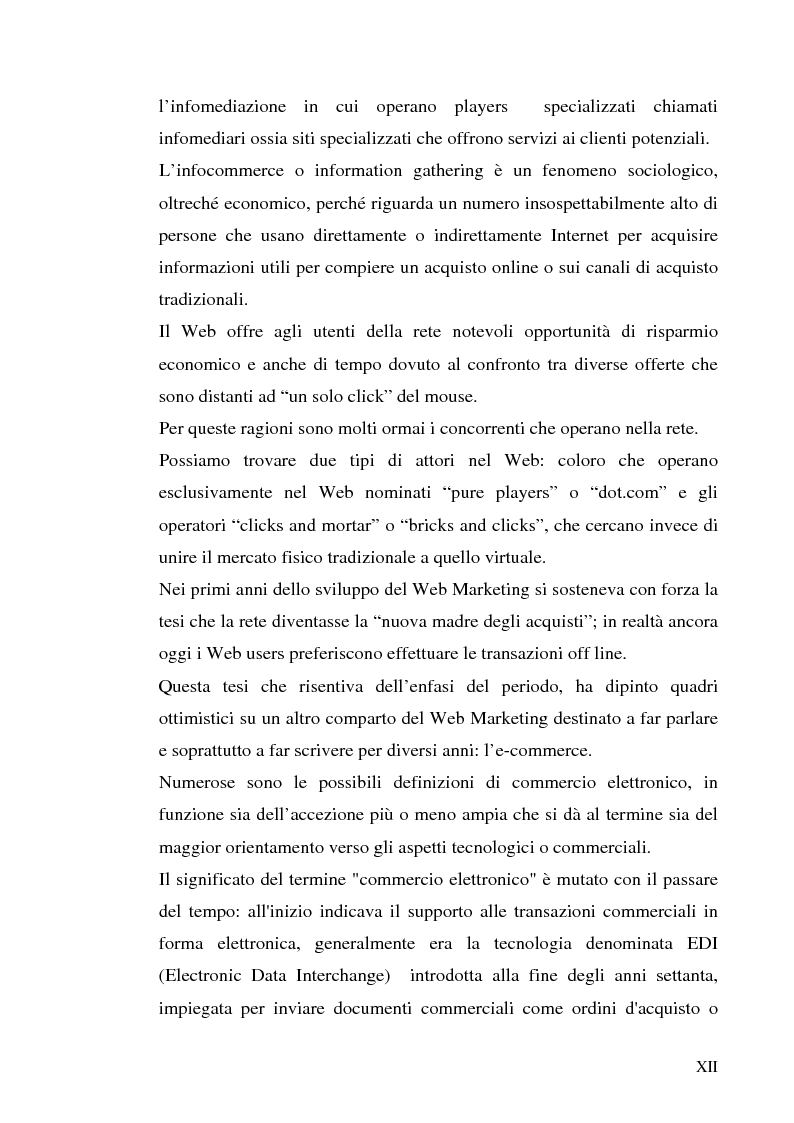Anteprima della tesi: Previsioni e dinamiche reali dell'e-commerce, Pagina 6