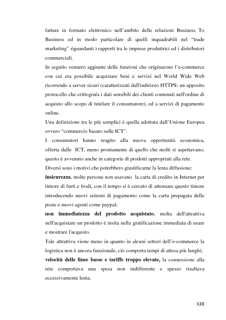 Anteprima della tesi: Previsioni e dinamiche reali dell'e-commerce, Pagina 7