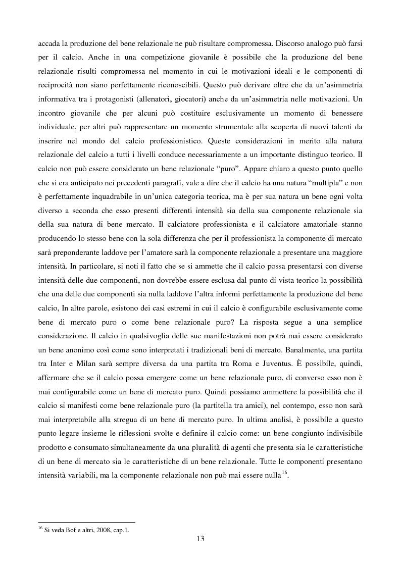 Anteprima della tesi: Organizzazione aziendale delle società sportive, Pagina 11