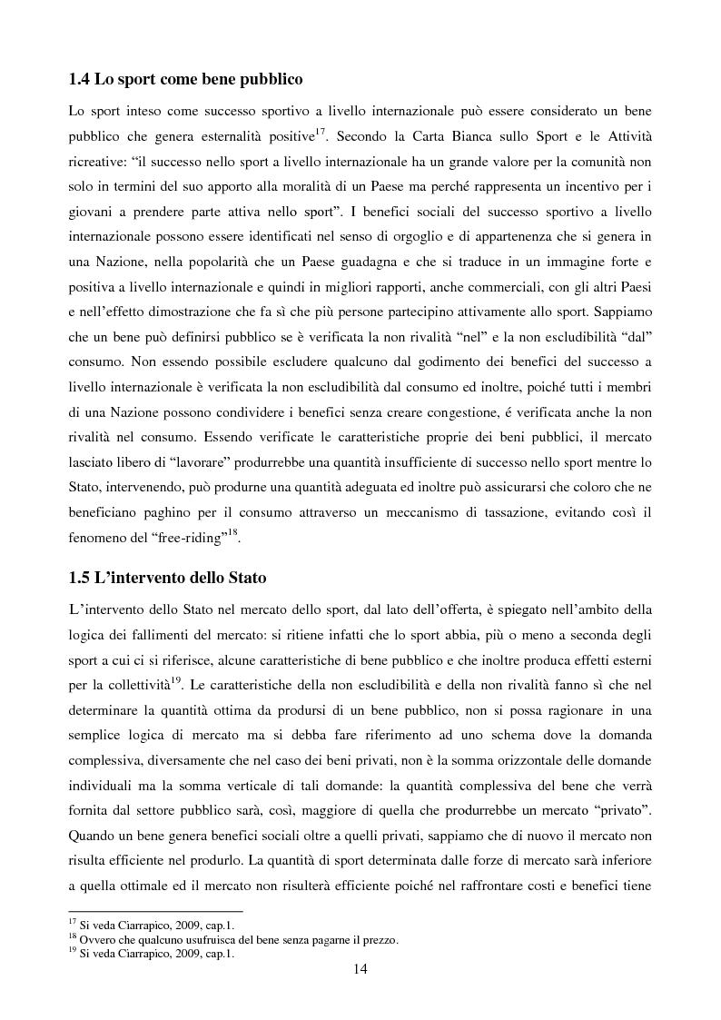 Anteprima della tesi: Organizzazione aziendale delle società sportive, Pagina 12
