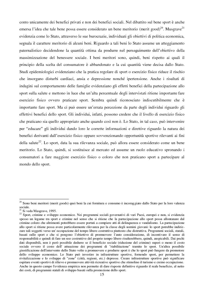 Anteprima della tesi: Organizzazione aziendale delle società sportive, Pagina 13