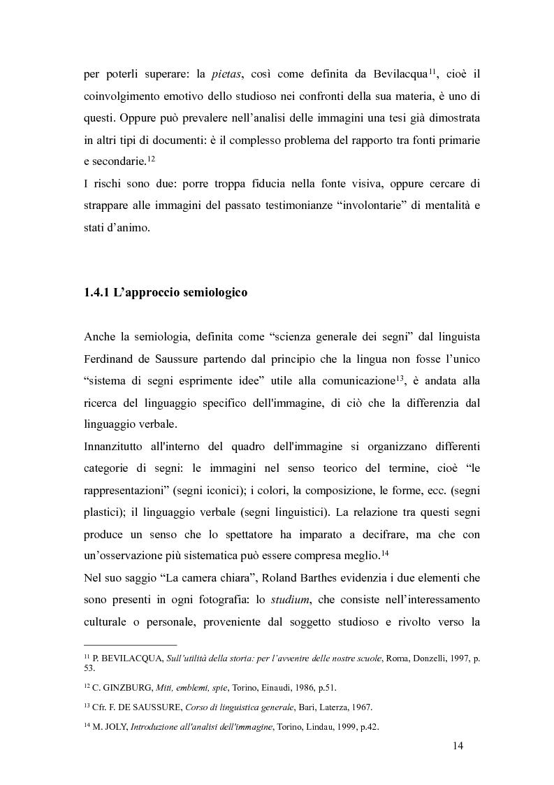 Anteprima della tesi: Il fascismo a Napoli nelle fotografie dell'Istituto Luce, Pagina 10