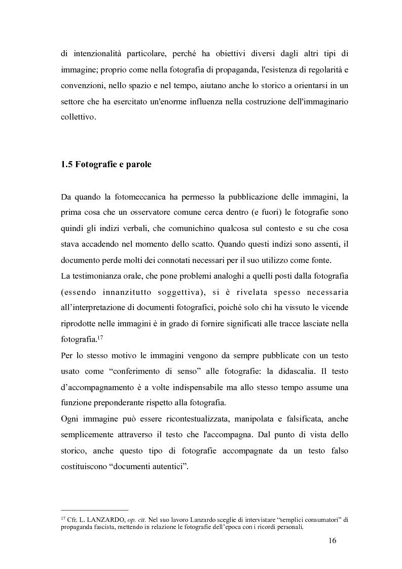 Anteprima della tesi: Il fascismo a Napoli nelle fotografie dell'Istituto Luce, Pagina 12