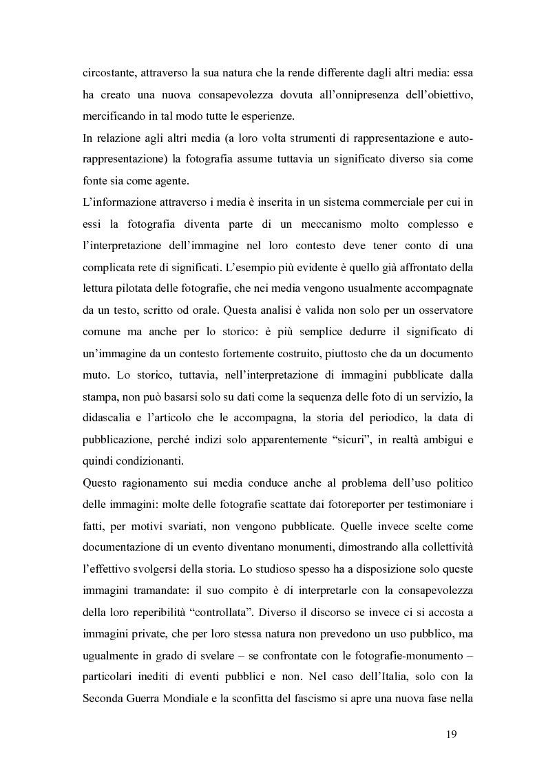 Anteprima della tesi: Il fascismo a Napoli nelle fotografie dell'Istituto Luce, Pagina 15