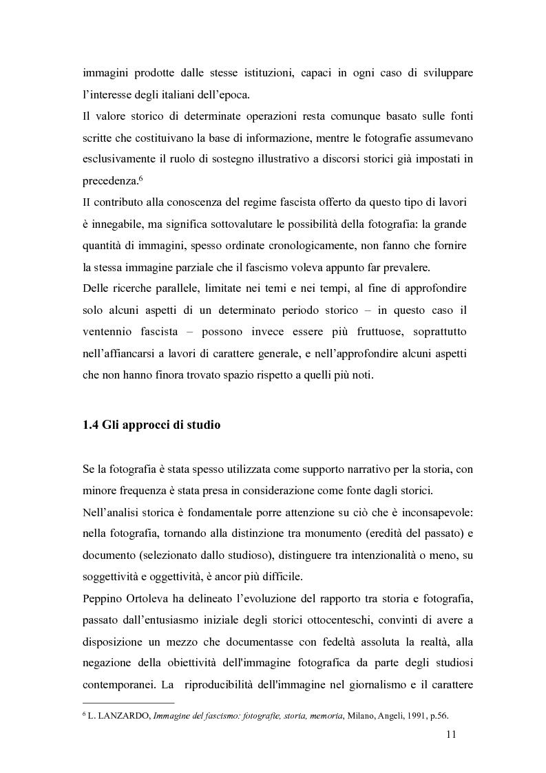 Anteprima della tesi: Il fascismo a Napoli nelle fotografie dell'Istituto Luce, Pagina 7