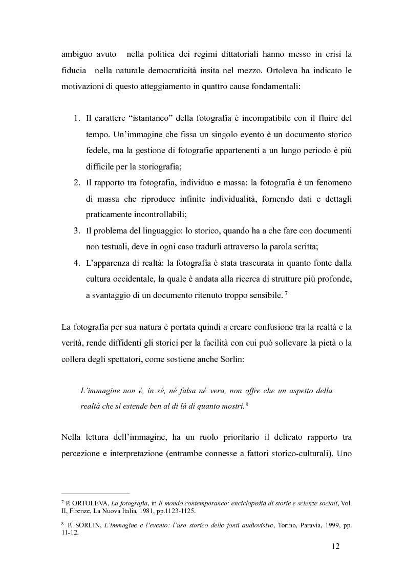 Anteprima della tesi: Il fascismo a Napoli nelle fotografie dell'Istituto Luce, Pagina 8