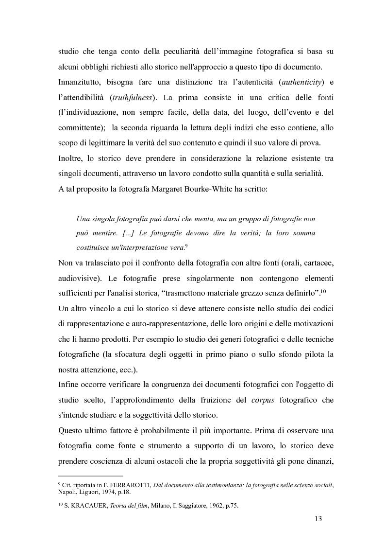 Anteprima della tesi: Il fascismo a Napoli nelle fotografie dell'Istituto Luce, Pagina 9