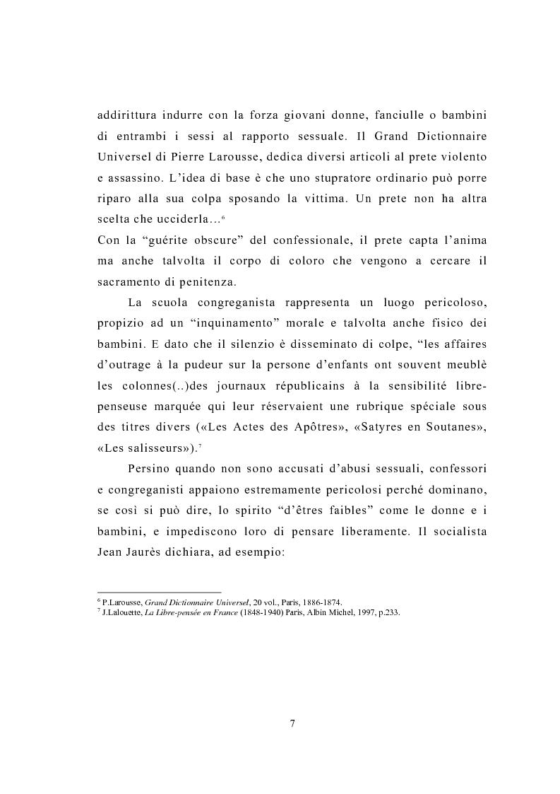 Anteprima della tesi: La figura del religioso nelle opere di Emile Zola, Pagina 11