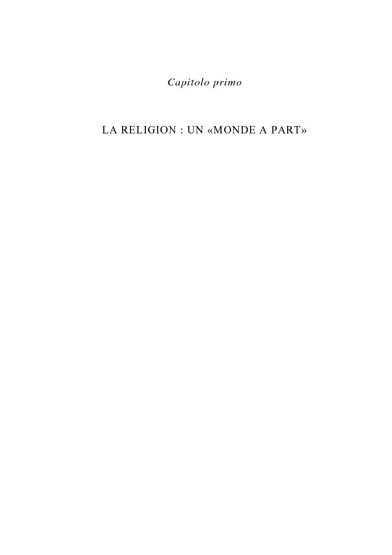 Anteprima della tesi: La figura del religioso nelle opere di Emile Zola, Pagina 5