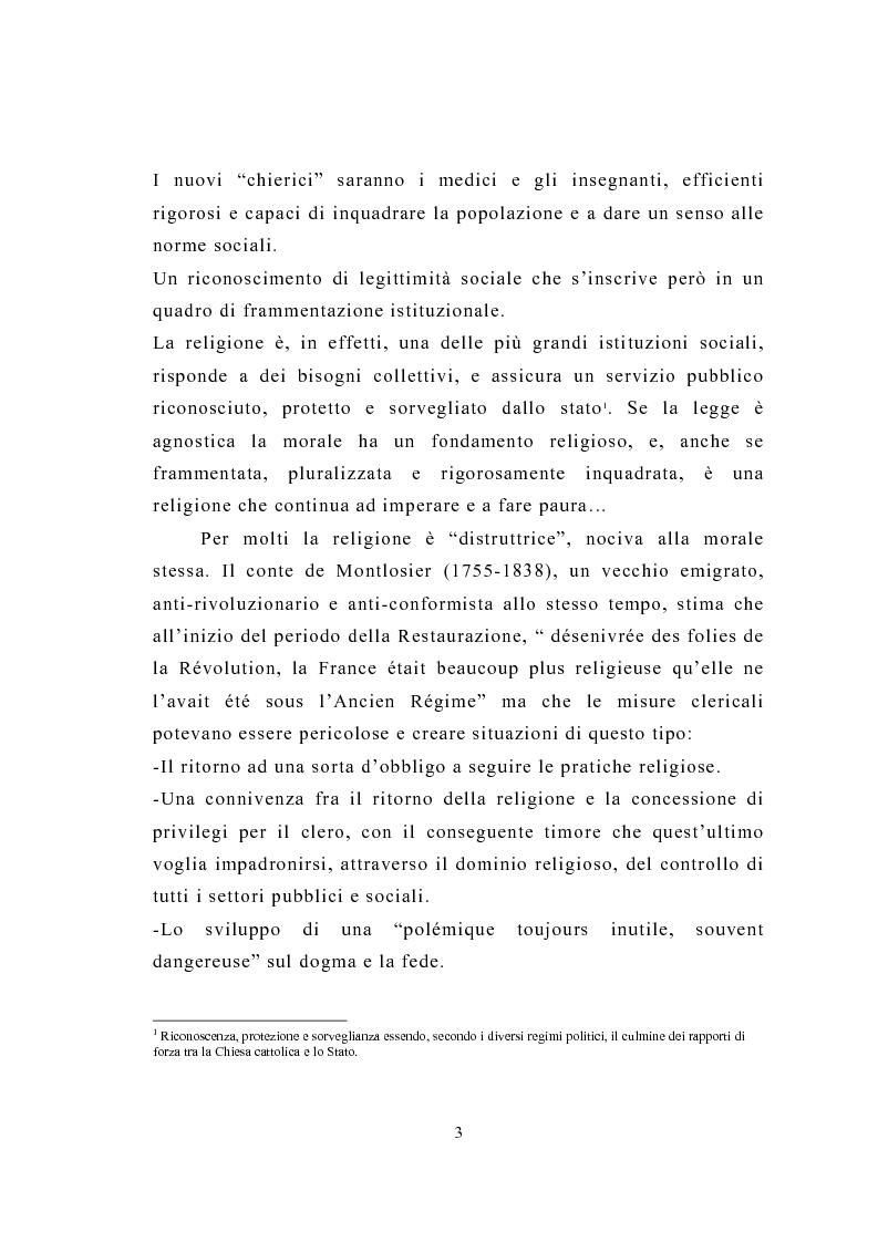 Anteprima della tesi: La figura del religioso nelle opere di Emile Zola, Pagina 7