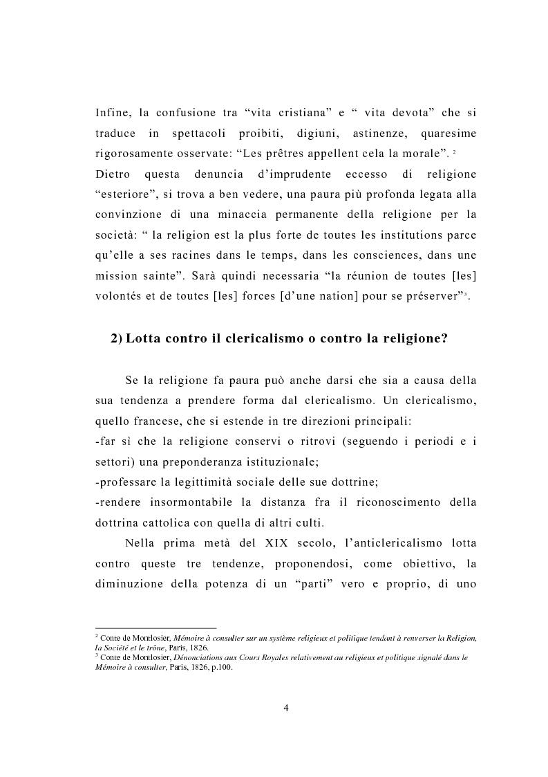 Anteprima della tesi: La figura del religioso nelle opere di Emile Zola, Pagina 8