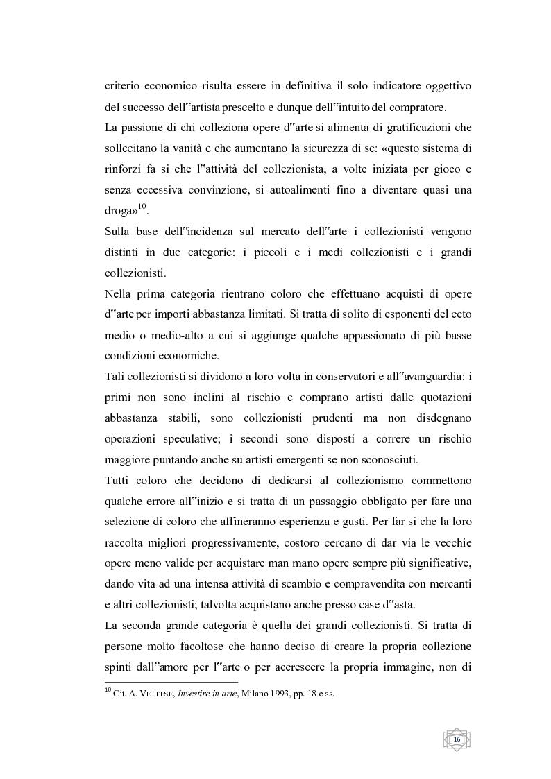 Anteprima della tesi: Dalla filantropia all'art banking: come l'arte contemporanea diventa immateriale, Pagina 10