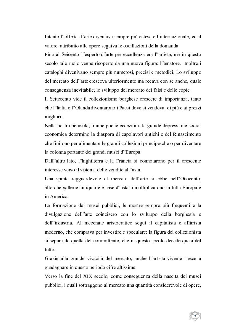 Anteprima della tesi: Dalla filantropia all'art banking: come l'arte contemporanea diventa immateriale, Pagina 3
