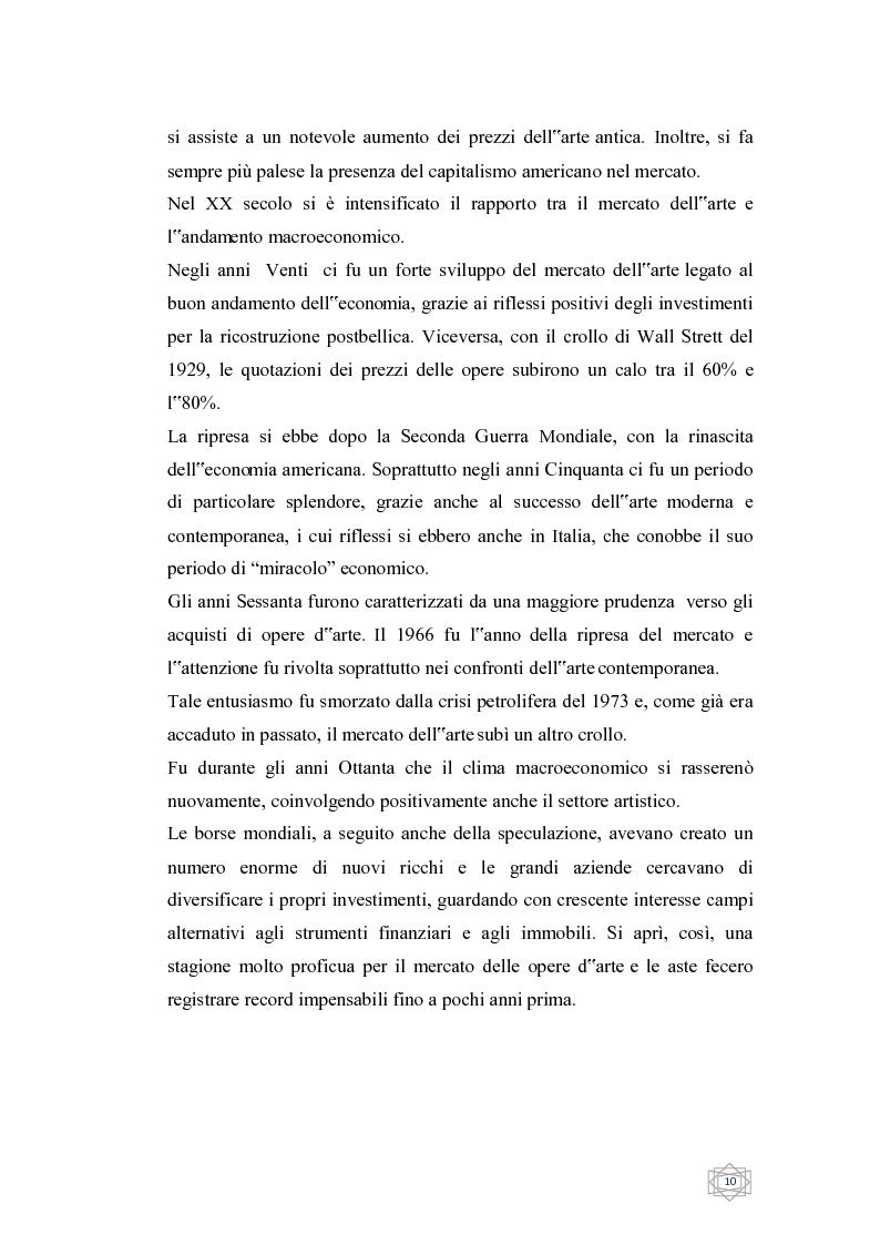 Anteprima della tesi: Dalla filantropia all'art banking: come l'arte contemporanea diventa immateriale, Pagina 4