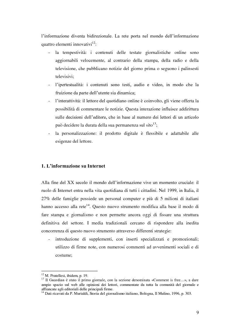 Anteprima della tesi: Il giornalismo politico scandalistico e la sua deriva in Dagospia, Pagina 6