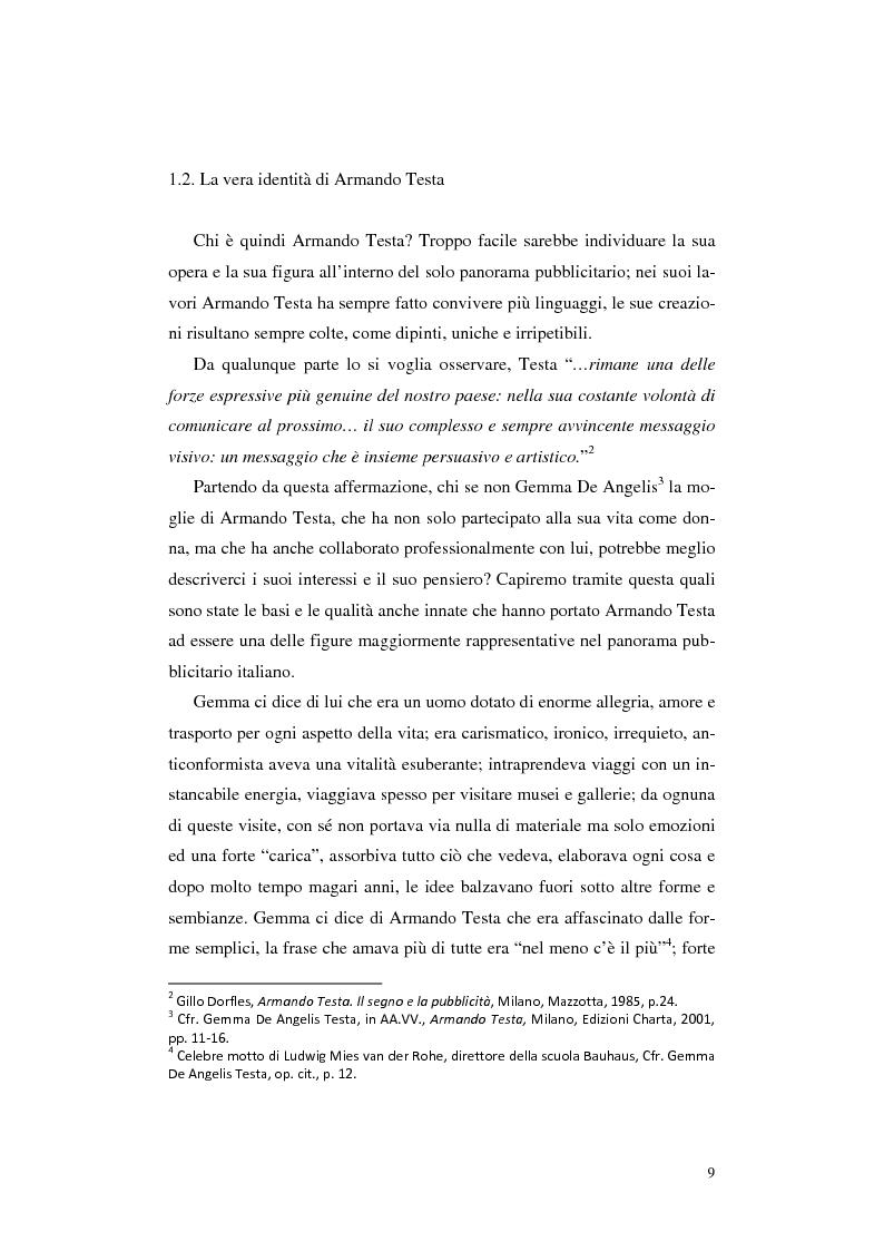 Anteprima della tesi: L'opera Armando Testa: apogeo e declino di un linguaggio, Pagina 6