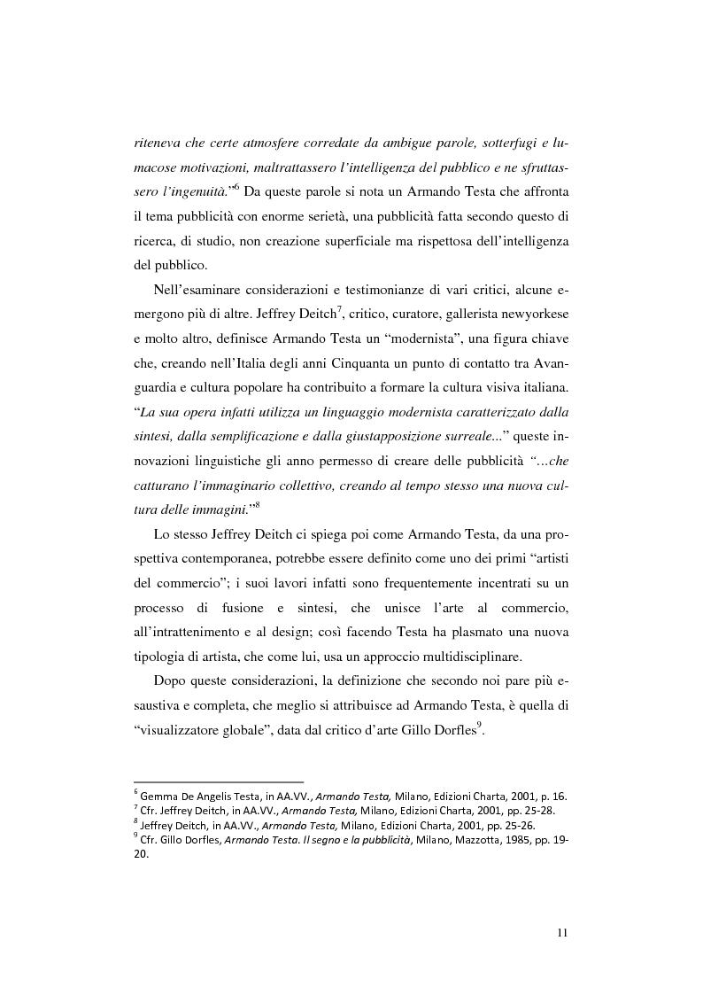 Anteprima della tesi: L'opera Armando Testa: apogeo e declino di un linguaggio, Pagina 8