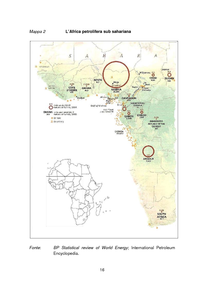Anteprima della tesi: I paesi petroliferi dell'Africa sub sahariana, Pagina 9