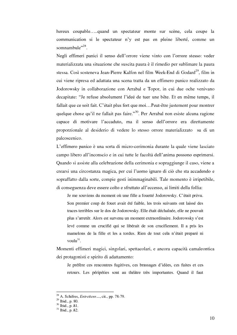 Anteprima della tesi: Fernando Arrabal y su ''Pánico'', Pagina 9