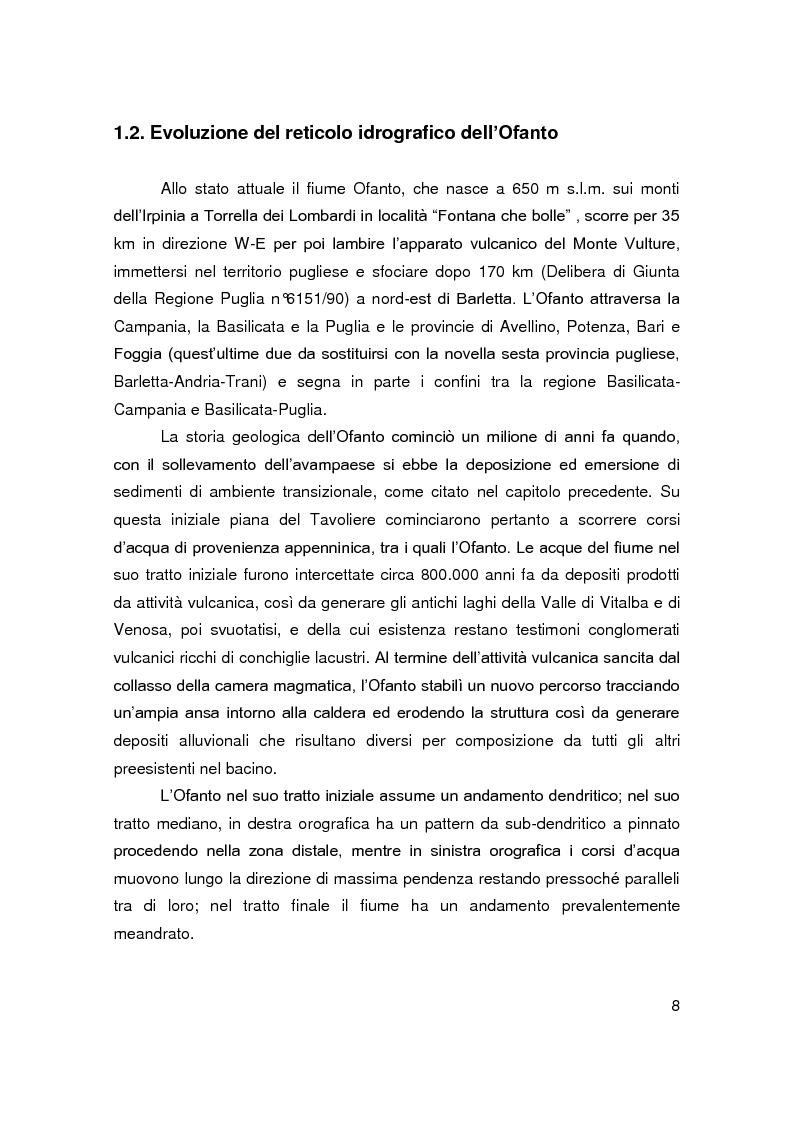Anteprima della tesi: Interventi di ingegneria naturalistica per la riqualificazione ambientale di un tratto del fiume Ofanto in agro di Canosa Di Puglia, Pagina 6