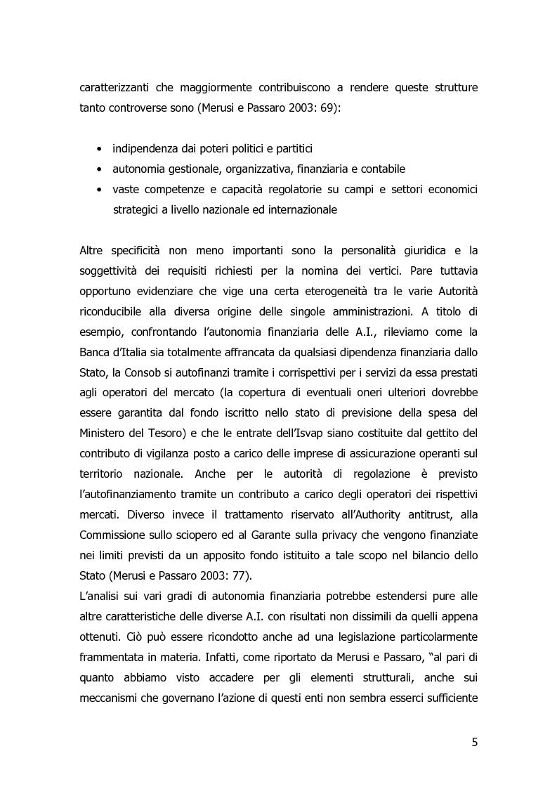 Anteprima della tesi: Garanzia, vigilanza e controllo: il ruolo dell'AGCOM nel mercato delle telecomunicazioni mobili italiane, Pagina 2
