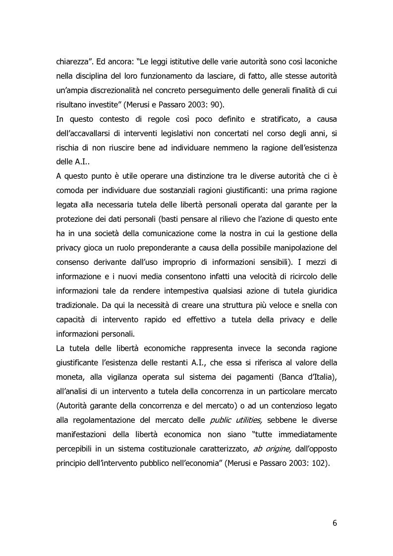 Anteprima della tesi: Garanzia, vigilanza e controllo: il ruolo dell'AGCOM nel mercato delle telecomunicazioni mobili italiane, Pagina 3