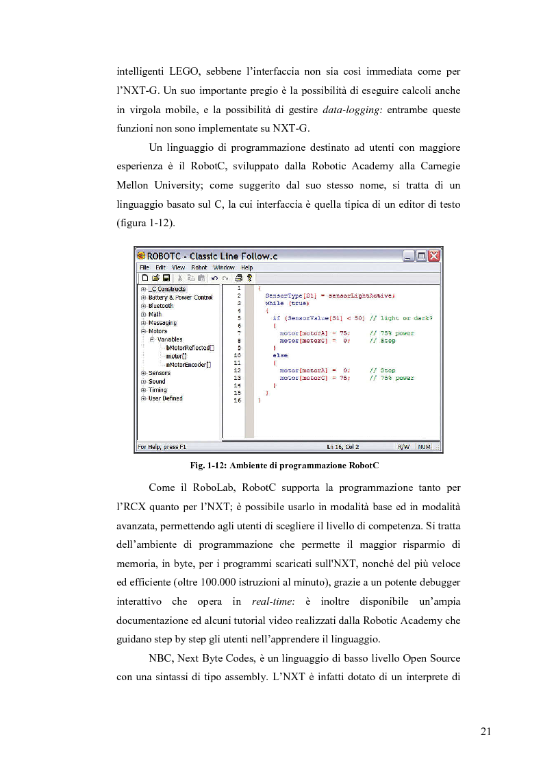 Anteprima della tesi: Sincronizzazione wireless di circuiti caotici mediante tecnologia Bluetooth su robot Mindstorms, Pagina 4