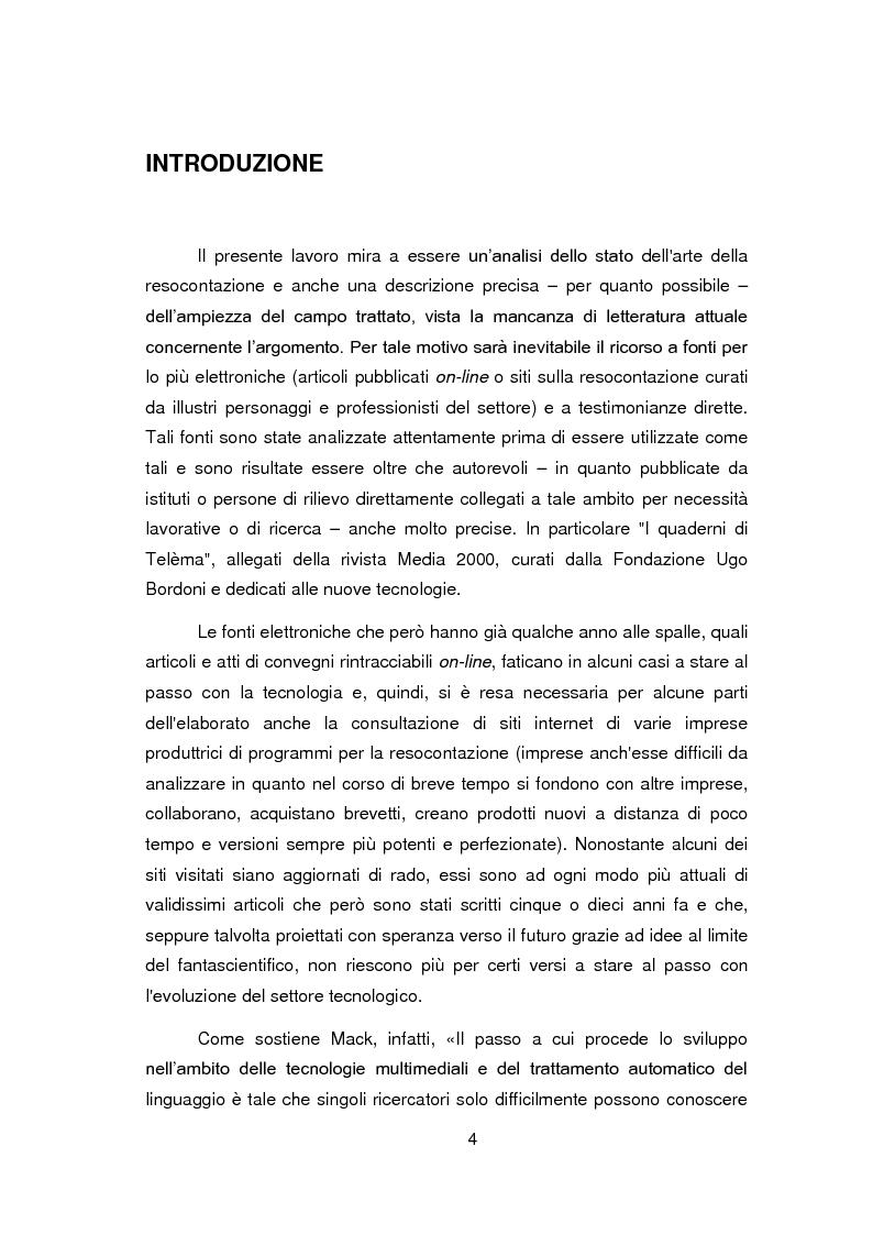 Anteprima della tesi: Nuovi orizzonti e nuove frontiere per l'interprete e il traduttore nel trattamento automatico del linguaggio - La figura del resocontista, Pagina 1