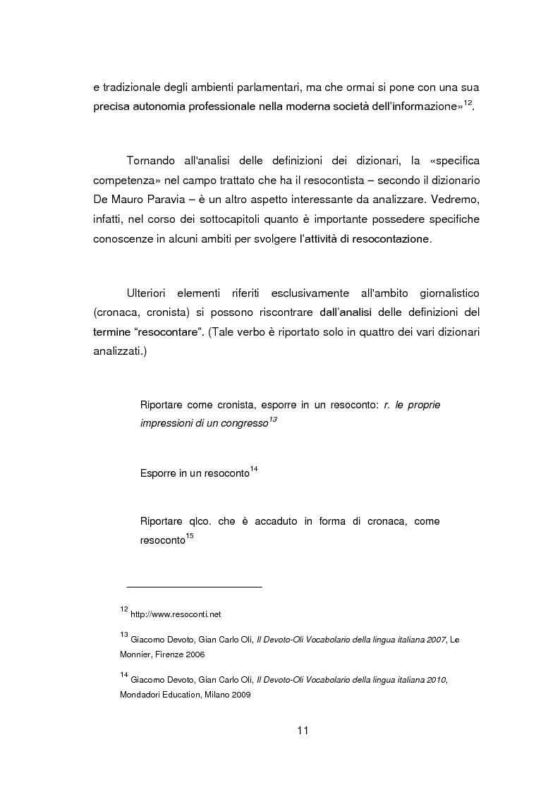 Anteprima della tesi: Nuovi orizzonti e nuove frontiere per l'interprete e il traduttore nel trattamento automatico del linguaggio - La figura del resocontista, Pagina 8
