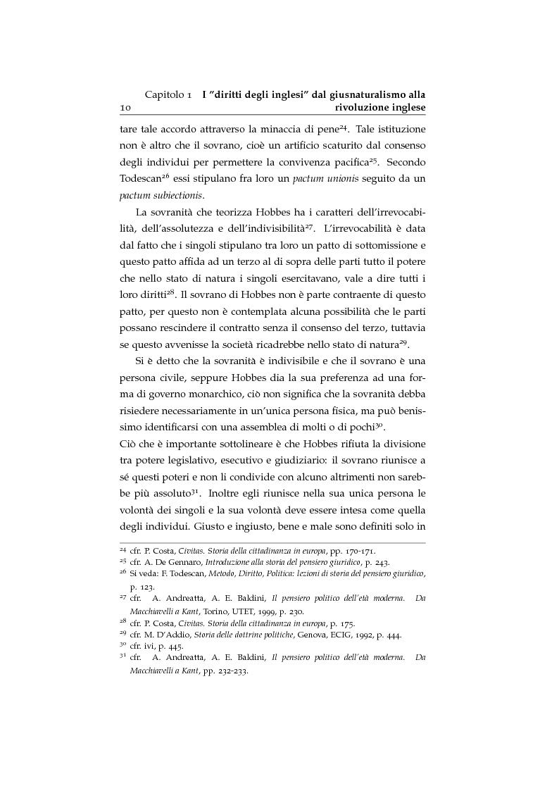 Anteprima della tesi: Storia ed evoluzione dei diritti fondamentali in Gran Bretagna: dal suddito inglese al cittadino europeo, Pagina 10