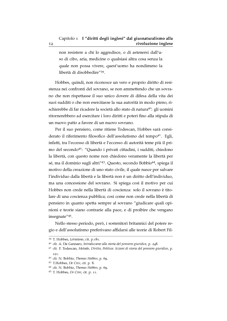 Anteprima della tesi: Storia ed evoluzione dei diritti fondamentali in Gran Bretagna: dal suddito inglese al cittadino europeo, Pagina 12