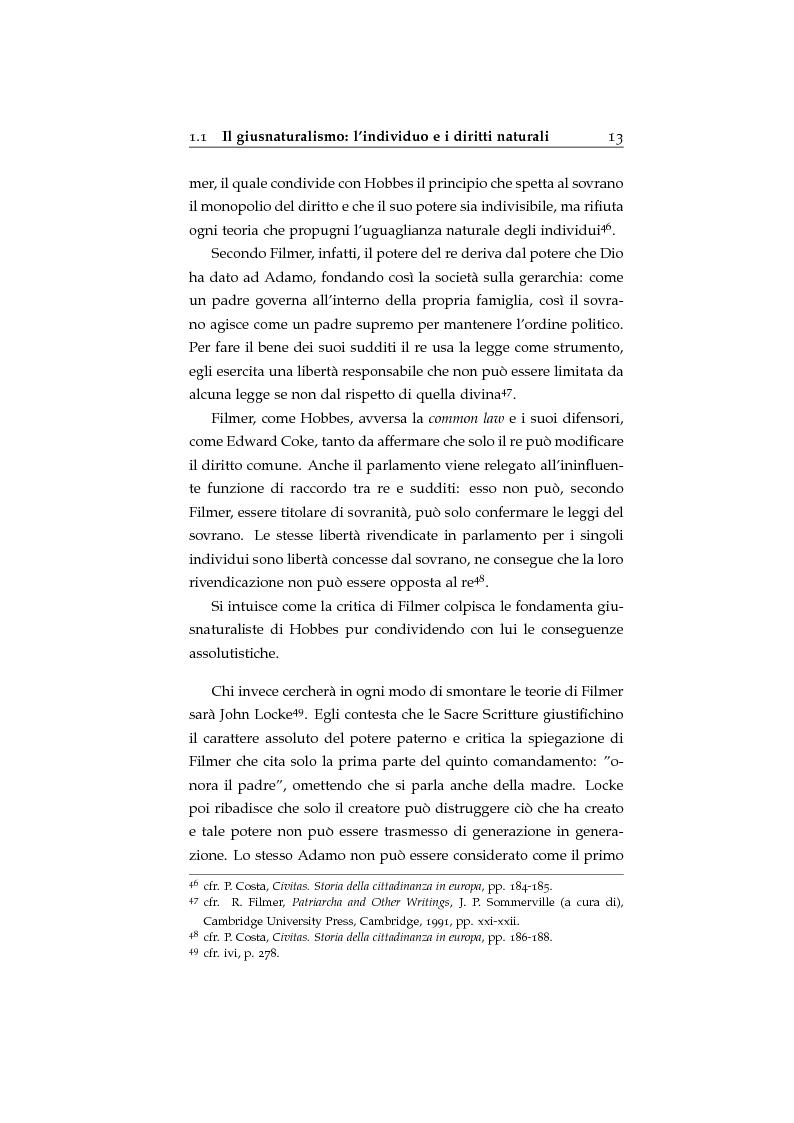 Anteprima della tesi: Storia ed evoluzione dei diritti fondamentali in Gran Bretagna: dal suddito inglese al cittadino europeo, Pagina 13