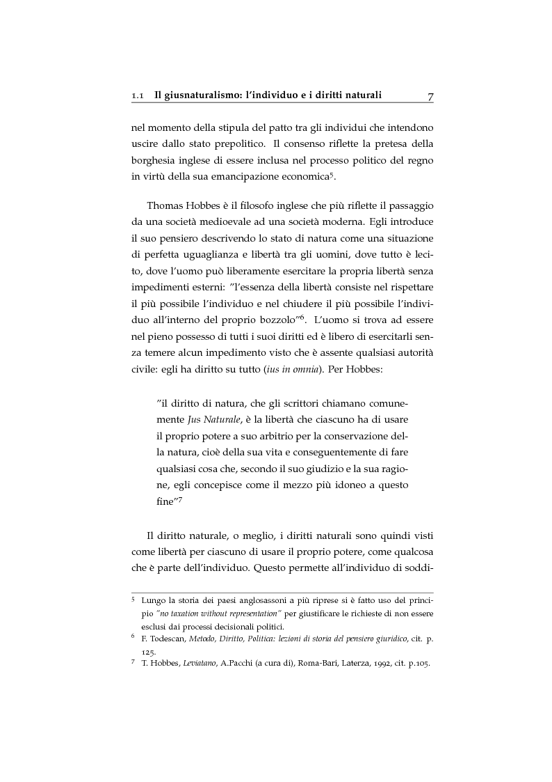 Anteprima della tesi: Storia ed evoluzione dei diritti fondamentali in Gran Bretagna: dal suddito inglese al cittadino europeo, Pagina 7