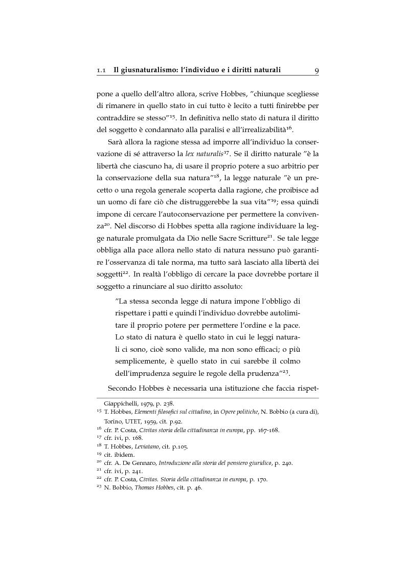 Anteprima della tesi: Storia ed evoluzione dei diritti fondamentali in Gran Bretagna: dal suddito inglese al cittadino europeo, Pagina 9