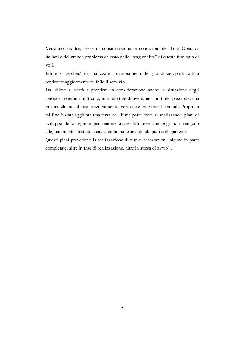 Anteprima della tesi: Lo sviluppo del prodotto charter: analisi, proposte e prospettive, Pagina 4