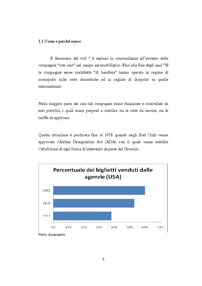 Anteprima della tesi: Lo sviluppo del prodotto charter: analisi, proposte e prospettive, Pagina 6