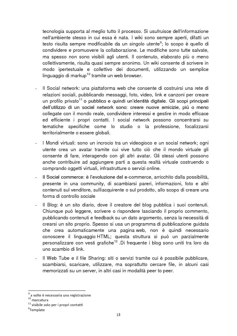 Anteprima della tesi: Web 2.0: rivoluzione o evoluzione, Pagina 7