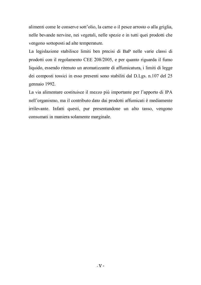 Anteprima della tesi: Idrocarburi policiclici aromatici (IPA) negli alimenti affumicati, Pagina 2
