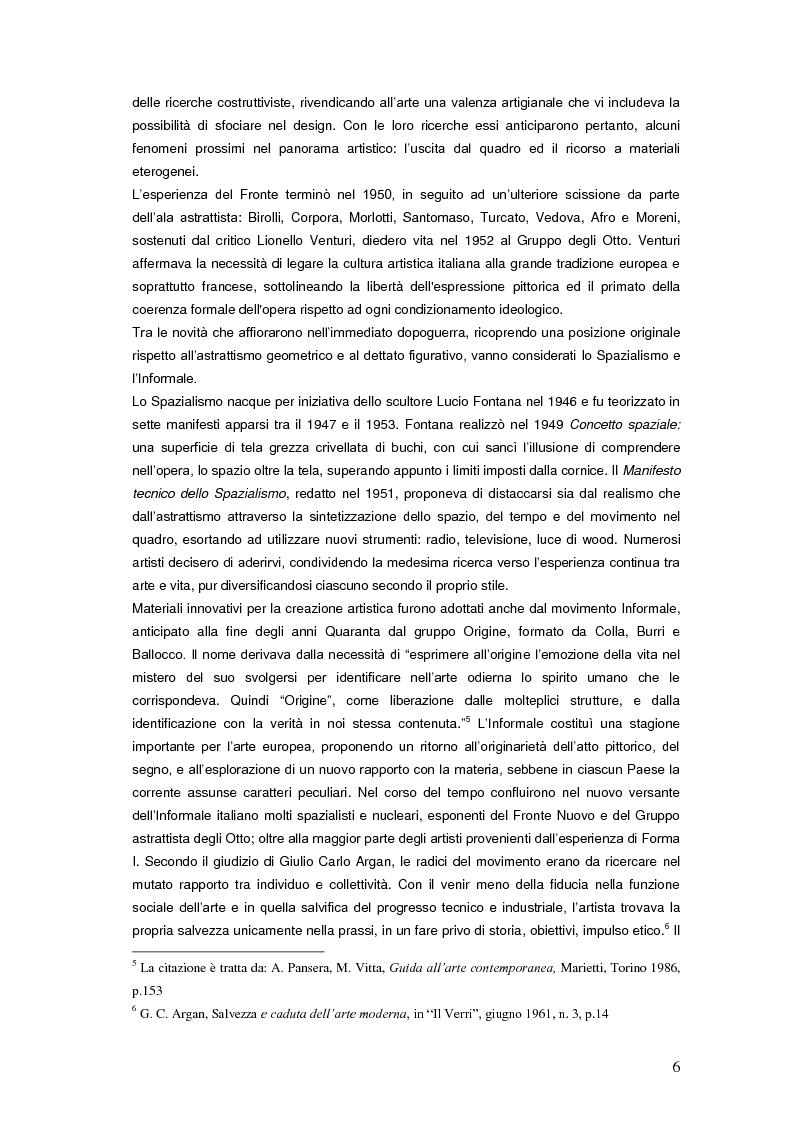 Anteprima della tesi: Il Premio Scipione tra continuità e fratture. Cinque edizioni in cinquant'anni., Pagina 6