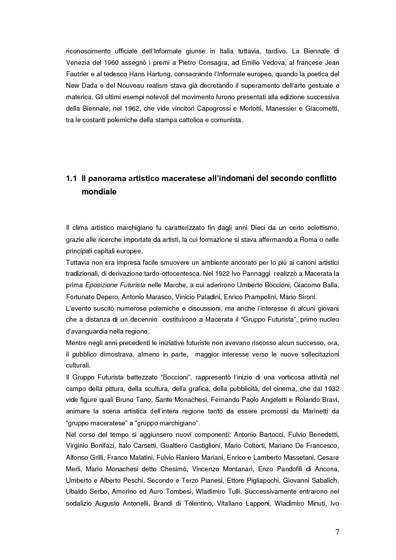 Anteprima della tesi: Il Premio Scipione tra continuità e fratture. Cinque edizioni in cinquant'anni., Pagina 7