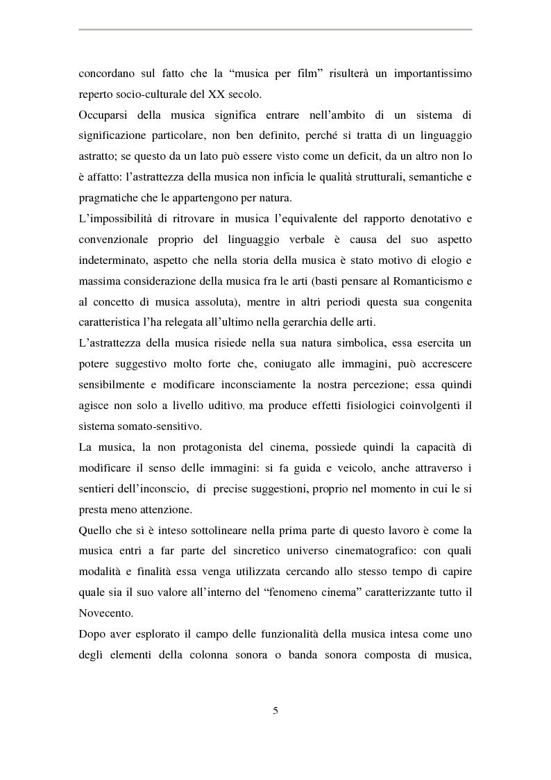 Anteprima della tesi: La musica di Ennio Morricone nel cinema di Elio Petri: intertestualità in 'Indagine su un cittadino al di sopra di ogni sospetto', Pagina 2