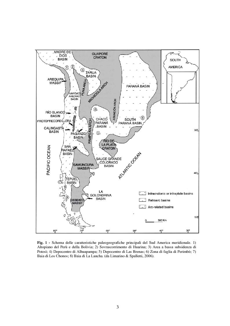 Anteprima della tesi: Analisi di rettili con adattamenti acquatici del Paleozoico Superiore del Brasile, Pagina 3