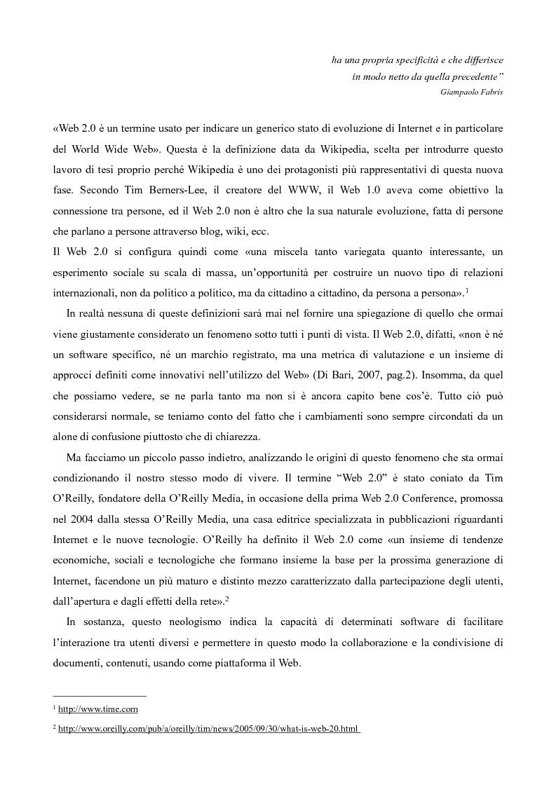 Anteprima della tesi: Il consumatore creativo: viaggio nell'advertising 2.0 di Zooppa, Pagina 3