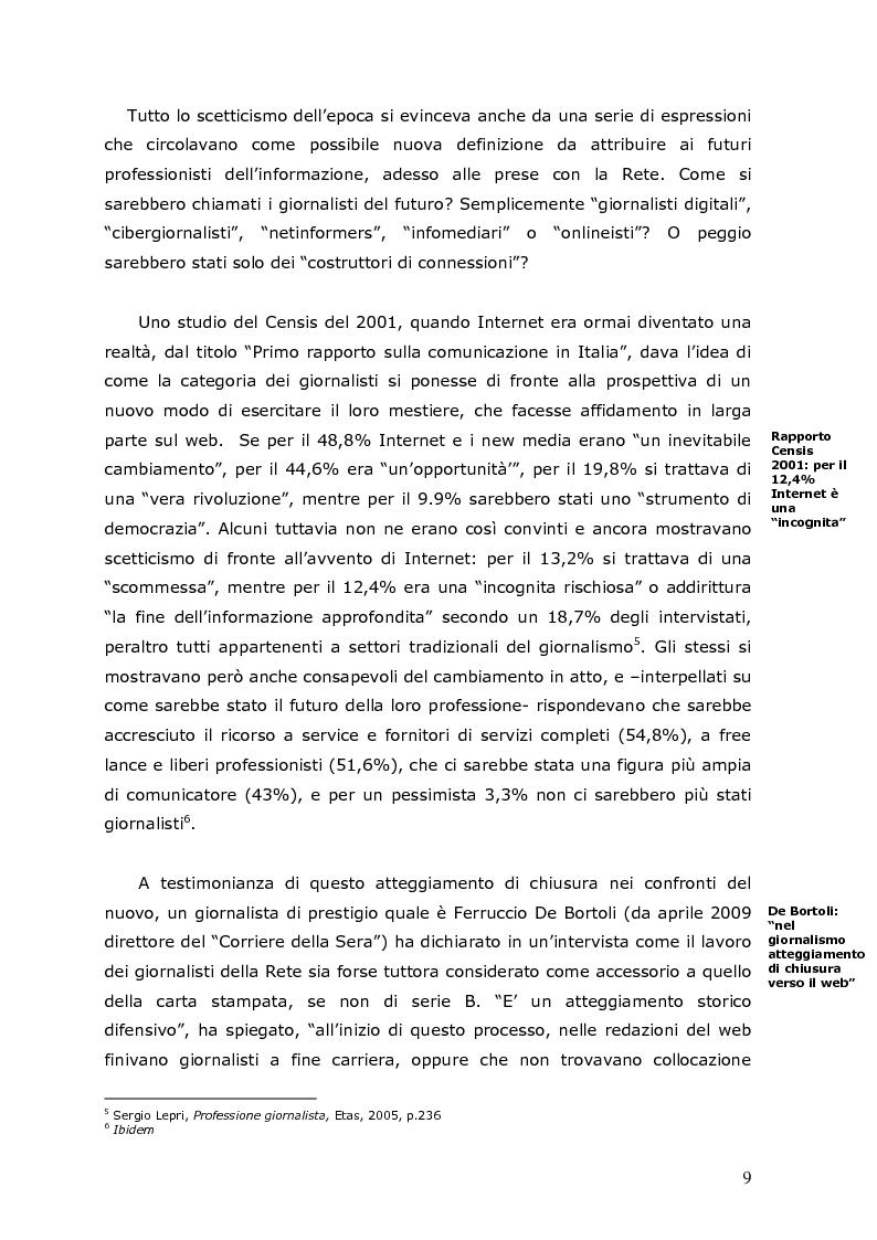 Anteprima della tesi: La crisi della carta stampata e i possibili sbocchi futuri, Pagina 6