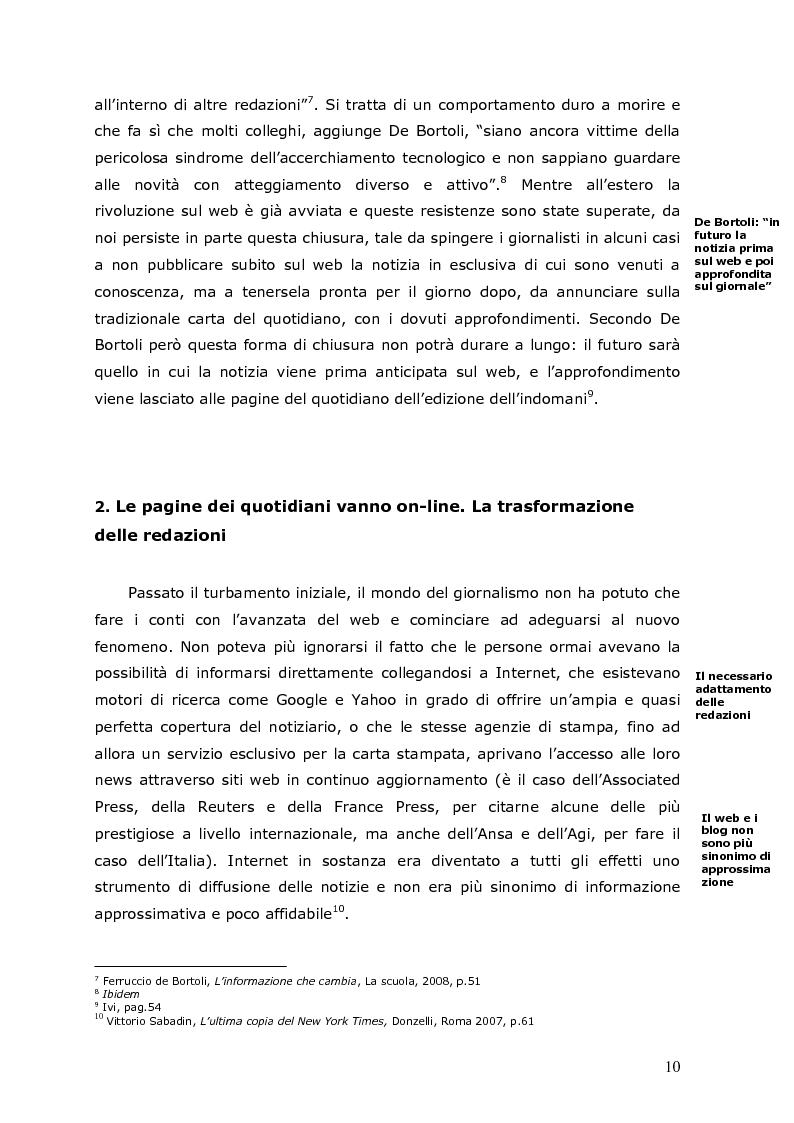 Anteprima della tesi: La crisi della carta stampata e i possibili sbocchi futuri, Pagina 7