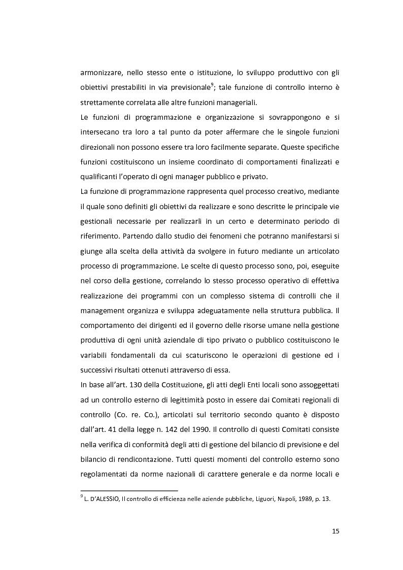 Anteprima della tesi: La Balanced Scorecard negli enti locali, Pagina 10