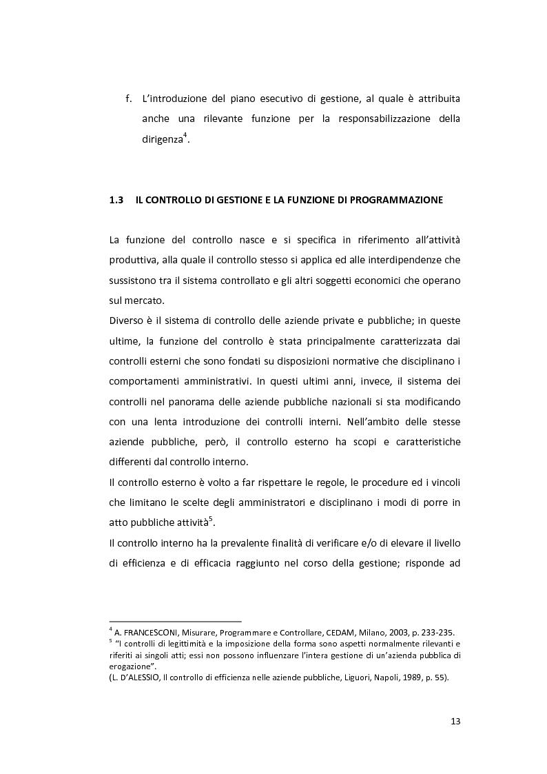 Anteprima della tesi: La Balanced Scorecard negli enti locali, Pagina 8