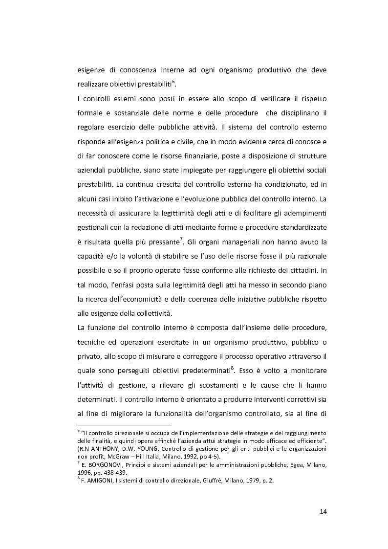 Anteprima della tesi: La Balanced Scorecard negli enti locali, Pagina 9
