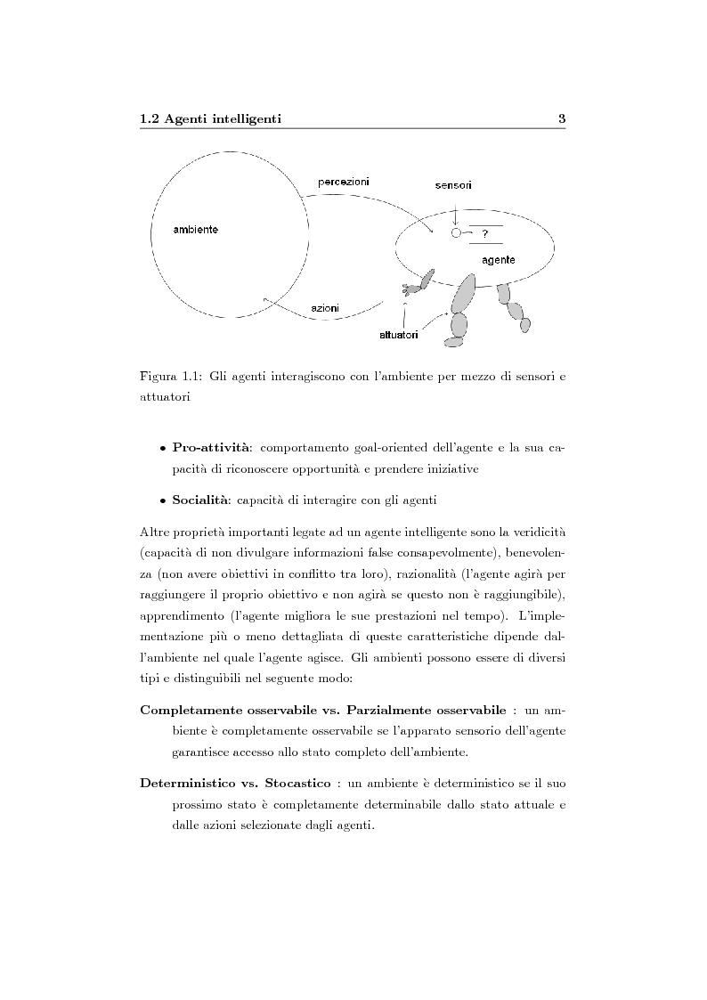 Anteprima della tesi: Organizzazione e ruoli in JADE: architettura BOID per la coordinazione, Pagina 5