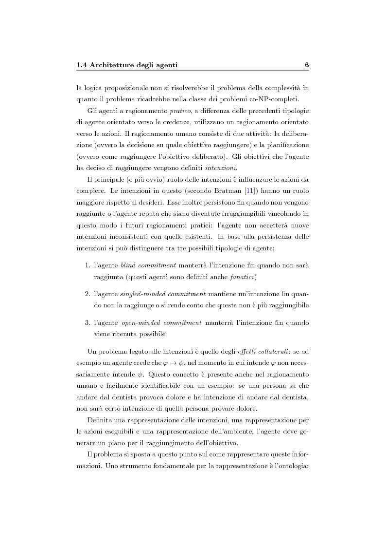 Anteprima della tesi: Organizzazione e ruoli in JADE: architettura BOID per la coordinazione, Pagina 8